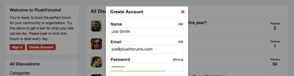 PlushForums: Hosted Forum Software for Online Communities